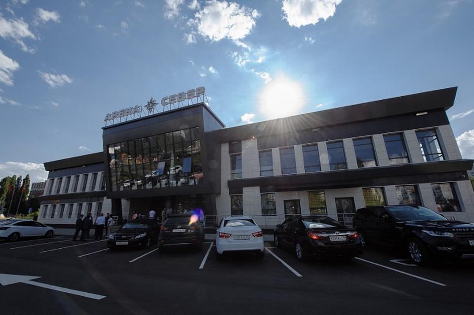 ВВоронеже открылся новый каток «Арена Север»