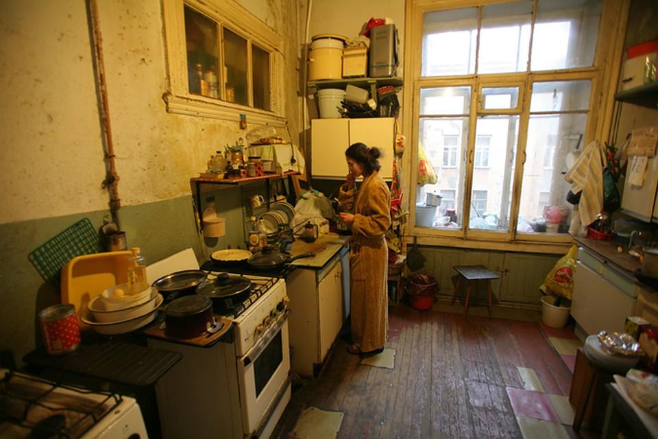 Задевять лет вПетербурге расселено 40 000 коммуналок из116