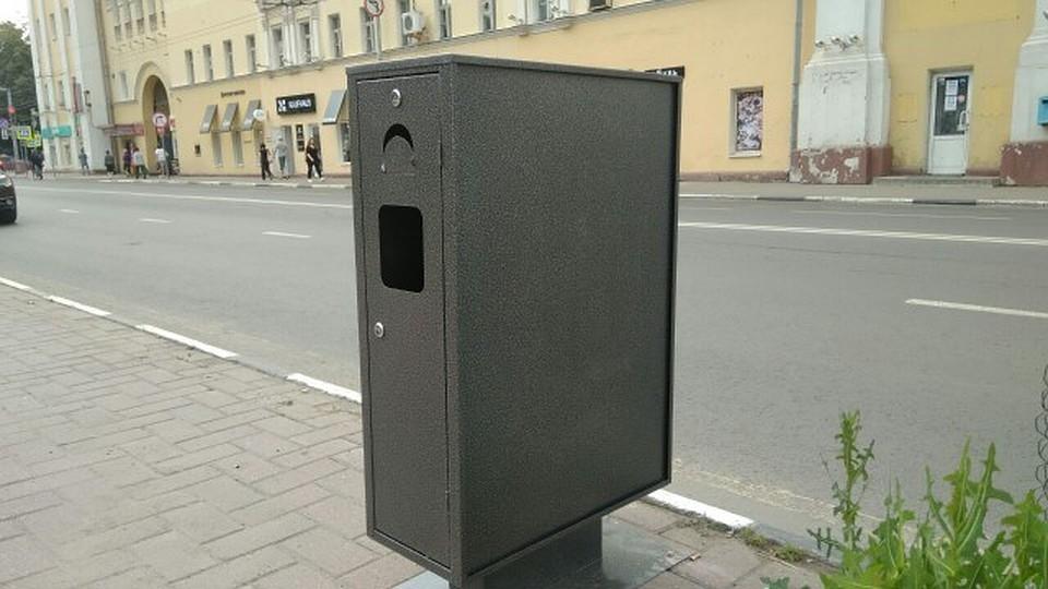 ВЯрославле устанавливают уникальные контейнеры для мусора