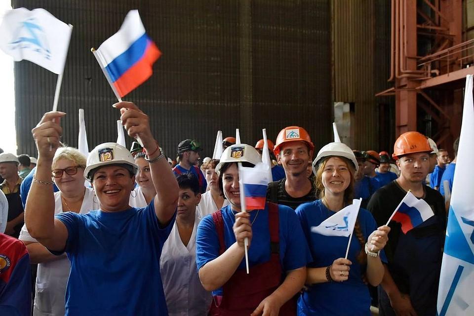 ВКрыму поведали оросте экономики всоставеРФ