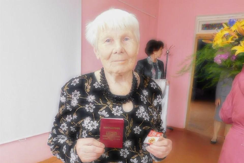 ВНовгородской области 86-летняя пенсионерка получила золото ГТО