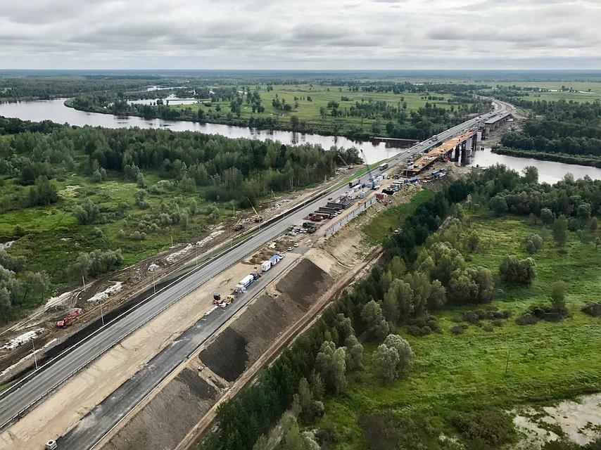 Мост через Тобол готов на90%