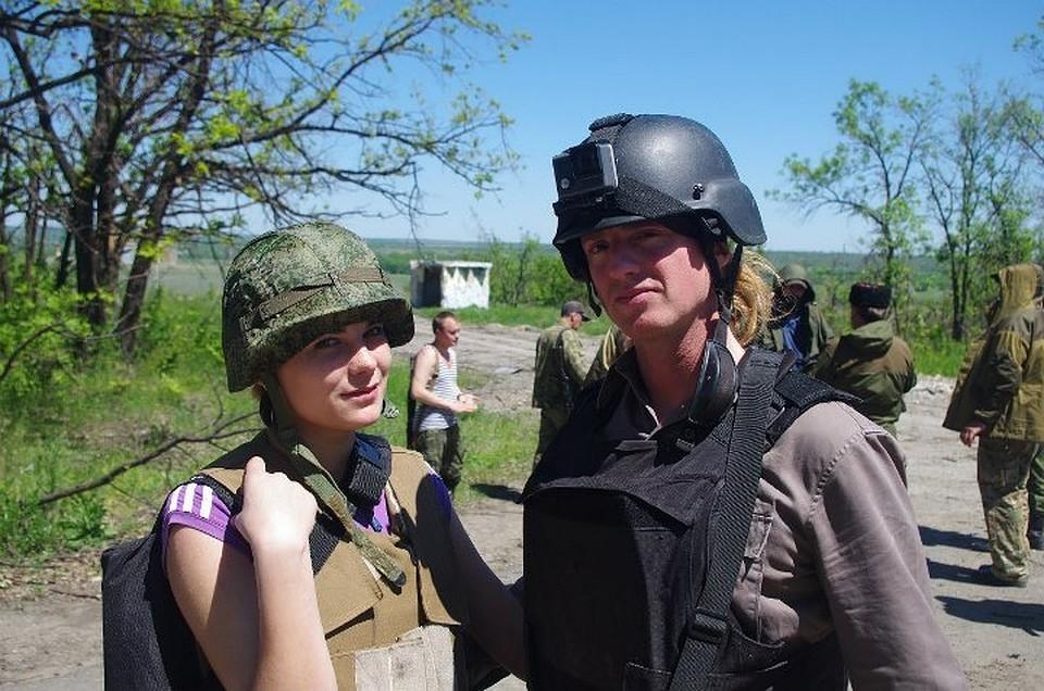 Американский корреспондент обвенчался вДонецке суроженкой ДНР
