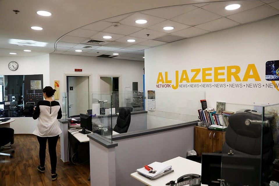 Власти Израиля решили закрыть кабинеты  AlJazeera вИерусалиме