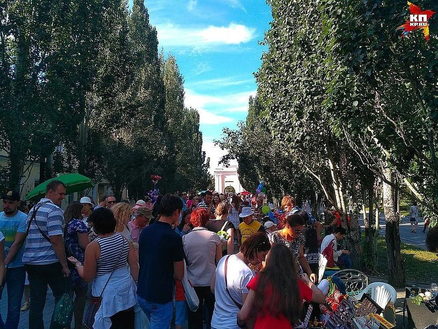 ВОмске намероприятия вчесть Дня города пришли 116 тыс. человек