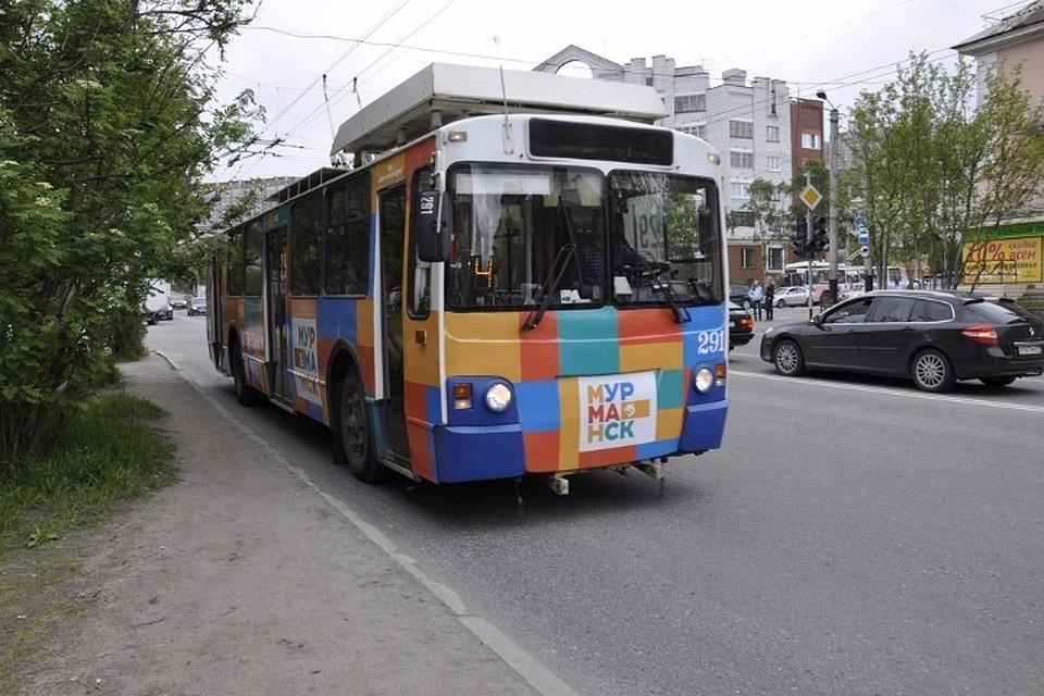 Мурманский троллейбус №4 закончит заезжать наБаумана