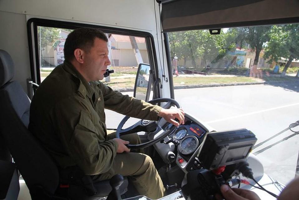 Руководство ДНР задумало выпустить сотню автобусов «Донбасс»