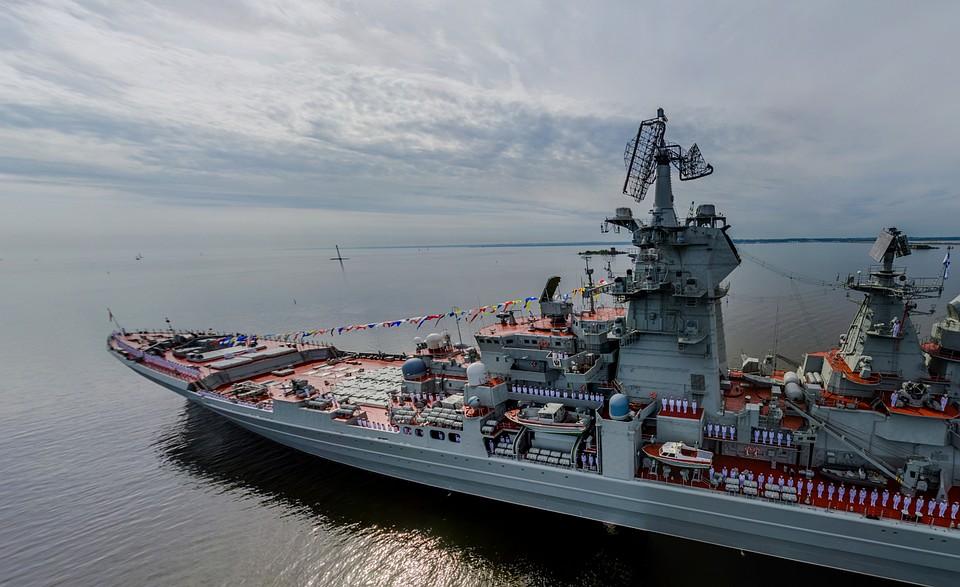 МинобороныРФ опубликовало 3D-фотопанораму основного военно-морского парада