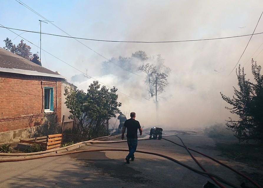 Ростовчане, лишившиеся жилья в итоге пожара, смогут выбрать, восстанавливать дома либо переехать