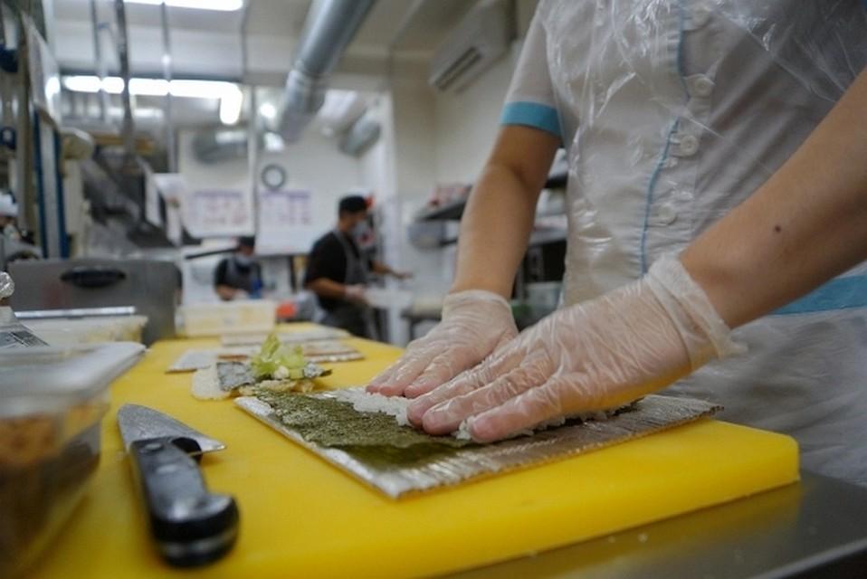 Опасные суши ироллы продавались вКемерове