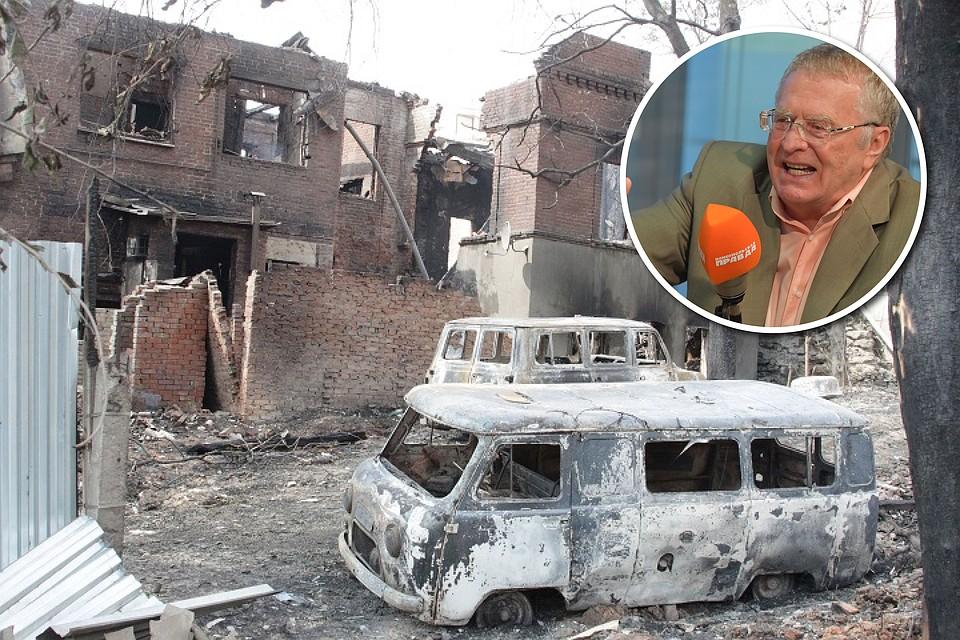 «Путину нужно было забирать государство Украину целиком»— Жириновский