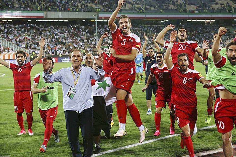 Сборная Сирии пофутболу вышла вчетвертый раунд отборочного турнираЧМ