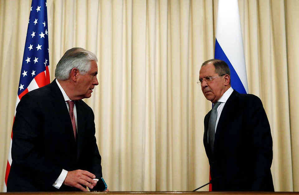 Лавров иТиллерсон обсудили общую работу вСирии