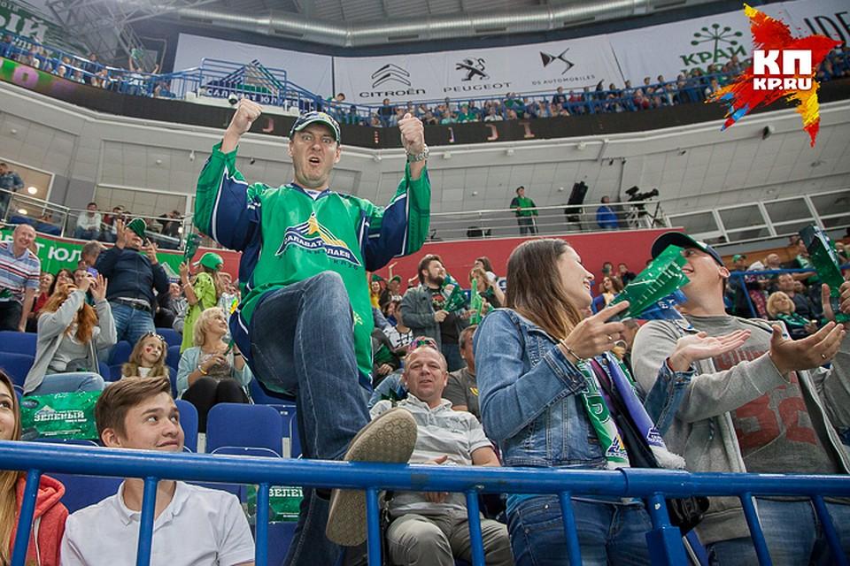 «Северсталь» прервала победную серию «Салавата Юлаева» в постоянном чемпионате КХЛ