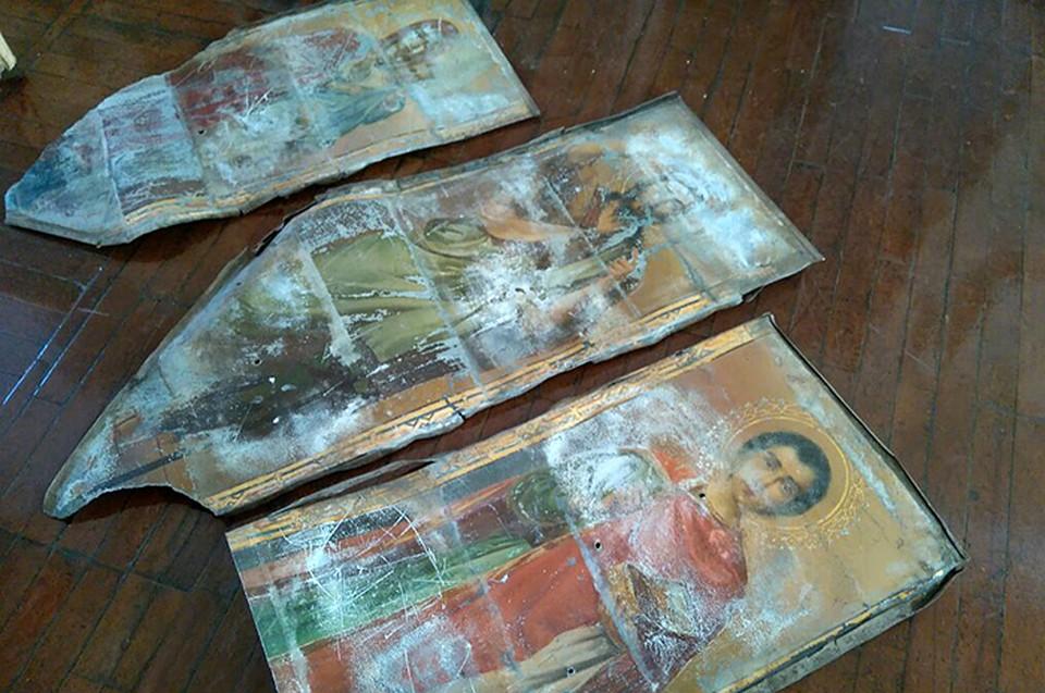 НаКубани украденные 120 лет назад иконы отыскали при ремонте школы искусств
