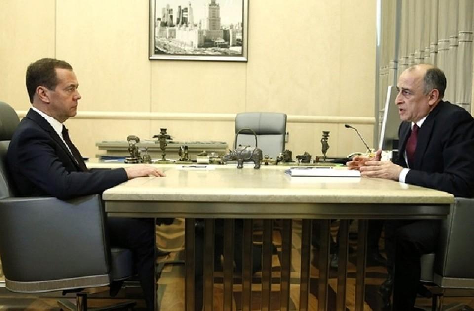 Медведев иКоков обсудилиЧС вКабардино-Балкарии