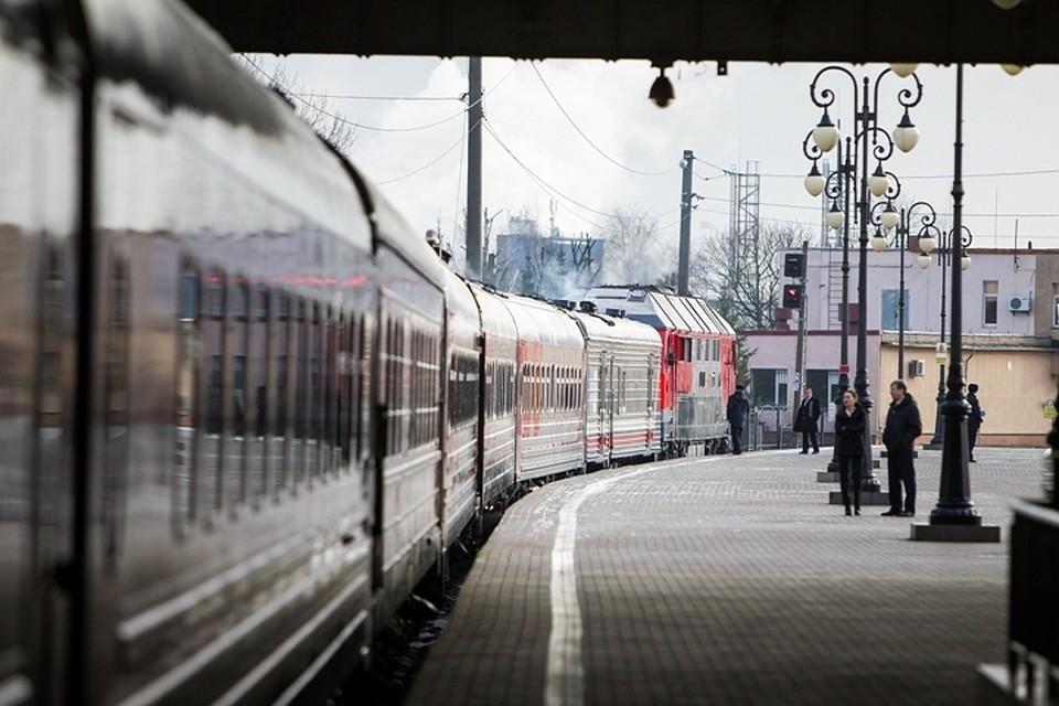 ВКалининградскую область прибыл 1-ый контейнерный транзитный поезд изПольши в КНР