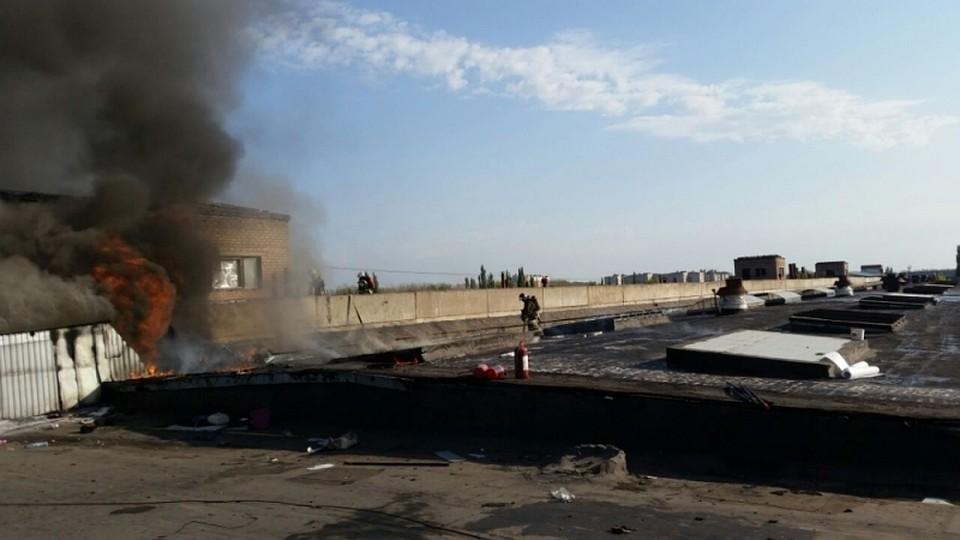Пожарно-спасательные подразделения МЧС устранили пожар вСтерлитамаке