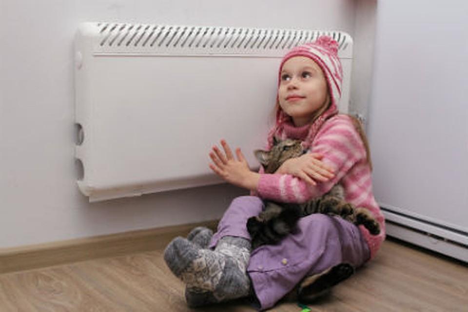 ВОмске тепло «пришло» вовсе детсады ишколы