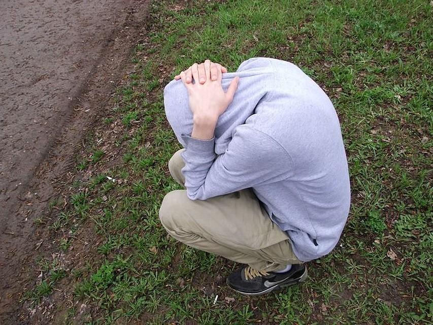 ВЩекино задержали неадекватного 18-летнего мужчины спакетом наркотиков