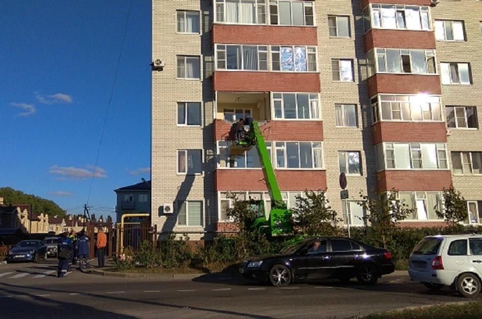 ВСтаврополе взрыв бытового газа поломал квартиры вмногоэтажке