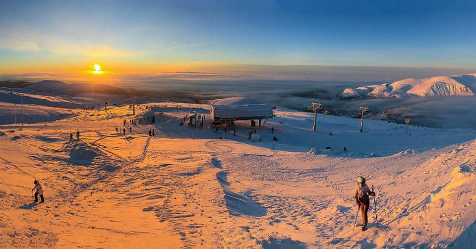 Белокуриха вошла втоп-5 горнолыжных курортов страны известных для новогоднего отдыха