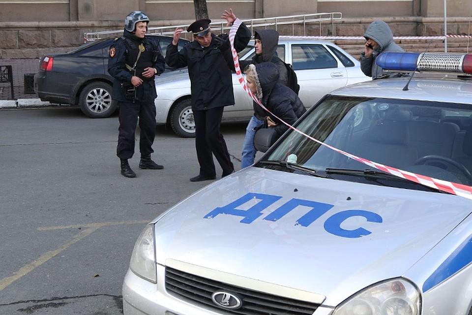 ВДень учителя вЧелябинске эвакуируют школы