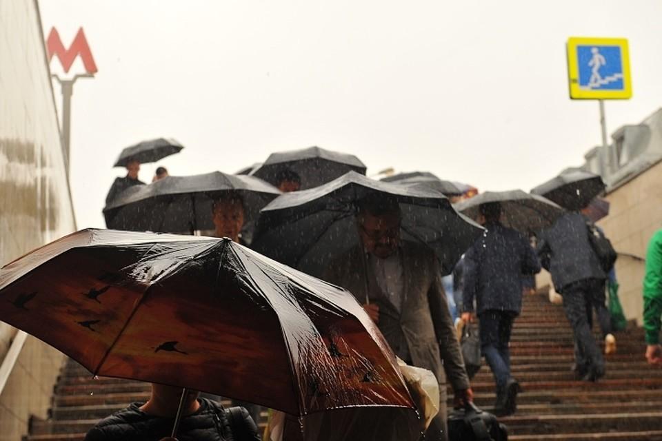 Дожди в столице прекратятся ввоскресенье— Гидрометцентр
