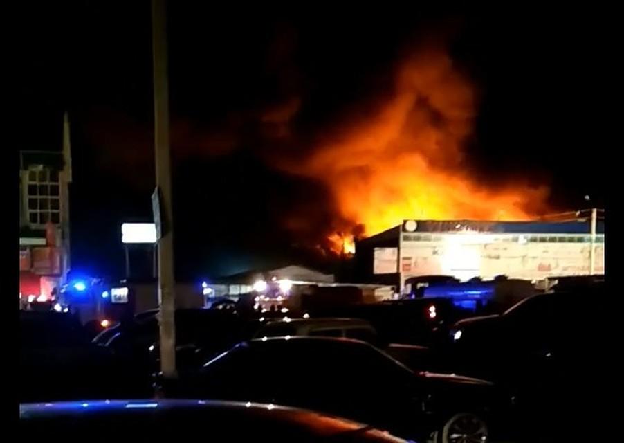 Общая площадь возгорания  увеличилась  вдвое  — Пожар наТемернике
