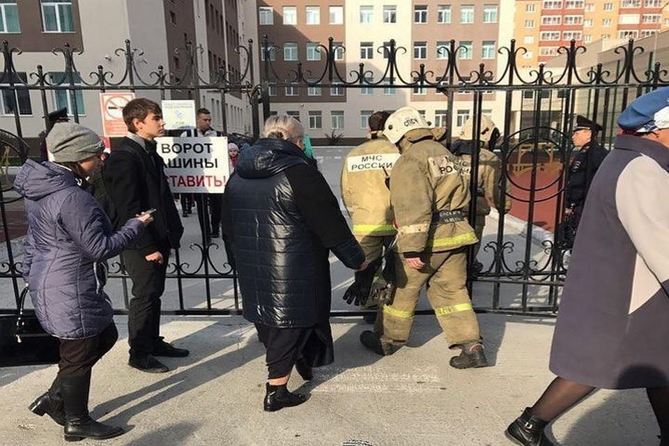 Очередная эвакуация детей иучителей началась вНовосибирске