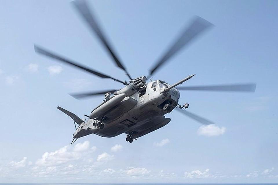 ВЯпонии разбился военный вертолет США