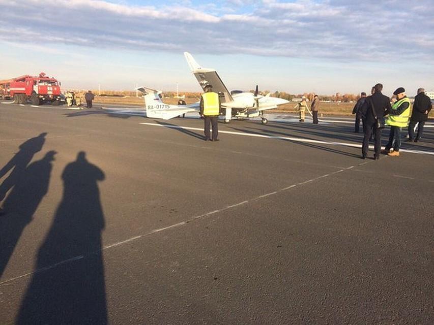 ВУльяновске совершил аварийную посадку самолёт скурсантами