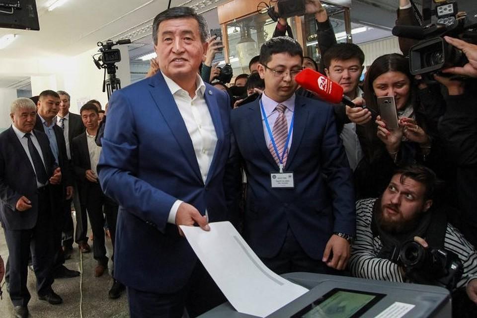 Лидер президентских выборов вКиргизии пообещал продолжить дело Атамбаева