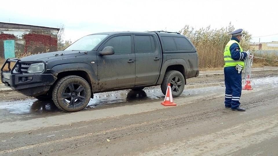ВАстраханской области 8-летний ребёнок попал под колёса джипа