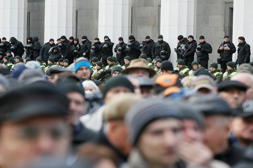 ВКиеве задержали 30 человек, причастных кбеспорядкам в помещении Святошинского суда