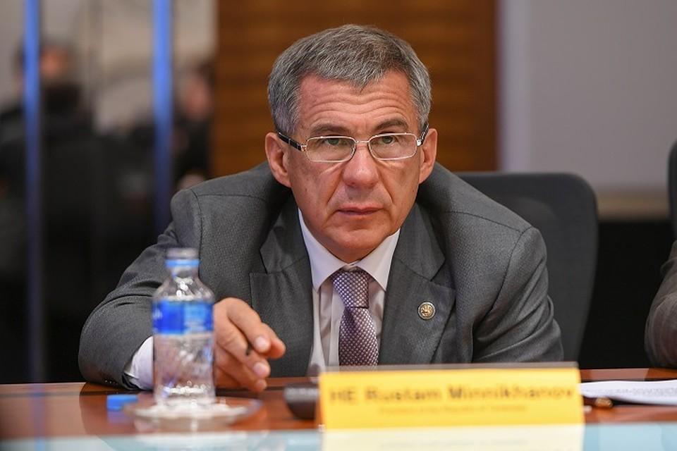 Рустам Минниханов: «Мызашли очень далеко собсуждением языкового вопроса»