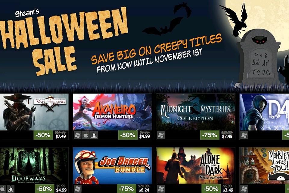 ВGOG началась распродажа вчесть Хеллоуина