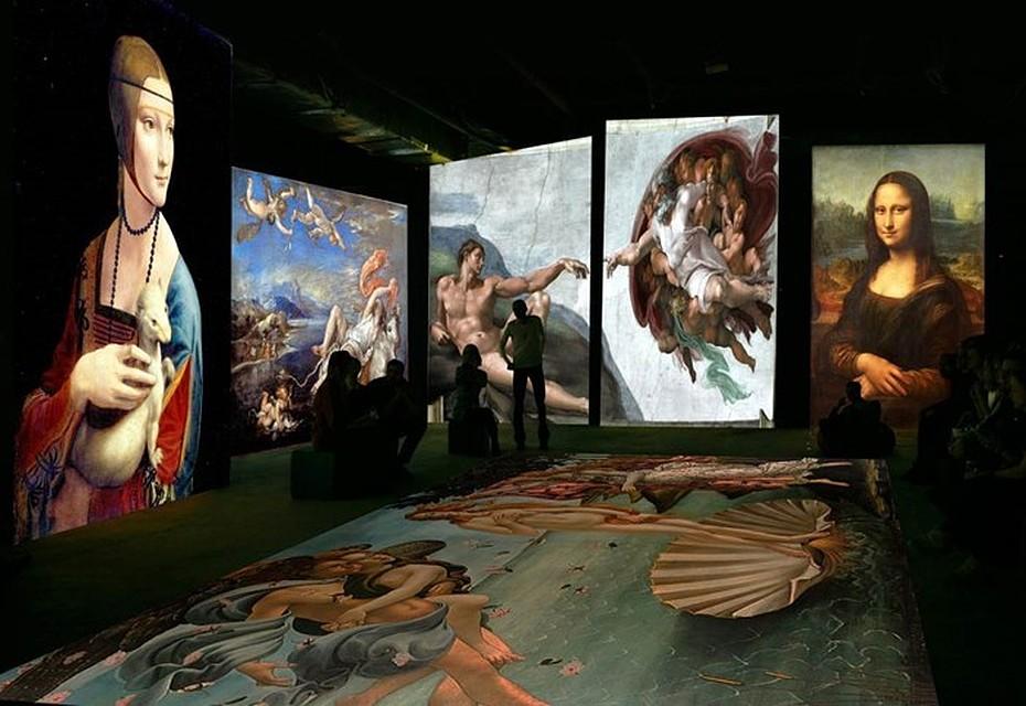 ВКраснодаре впервый раз представят мультимедийный проект «Оживающие полотна»