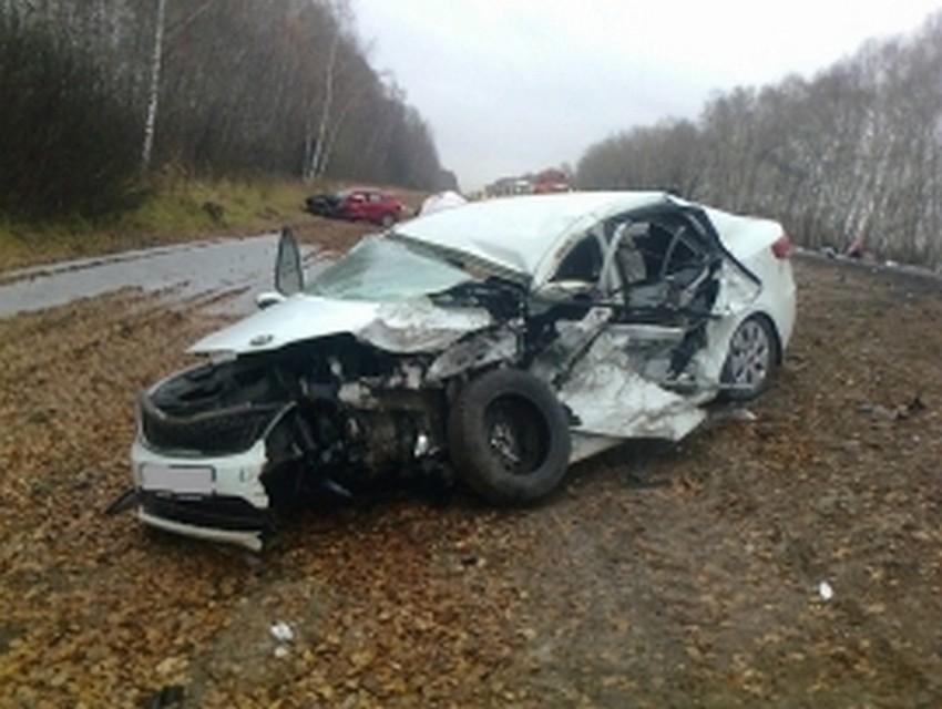 ВРязанской области столкнулись 5 авто, есть погибшие