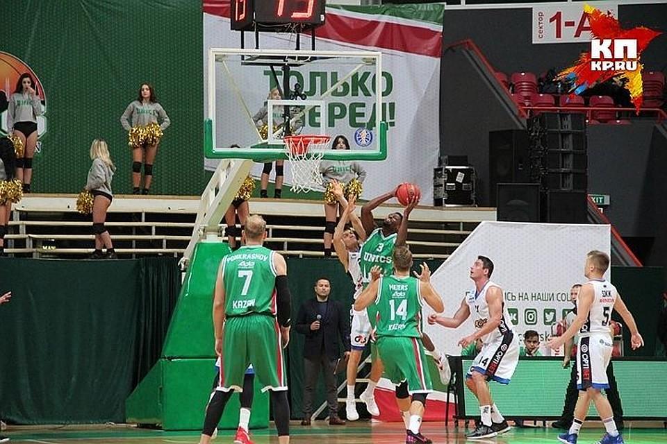 УНИКС одержал четвертую победу подряд вЕдиной лиге ВТБ, обыграв «Цмоки-Минск»
