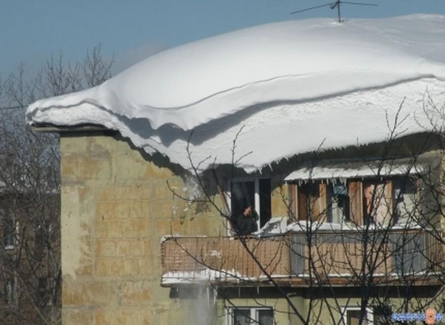 НаЯмале женщина получила компенсацию заупавший скрыши снег