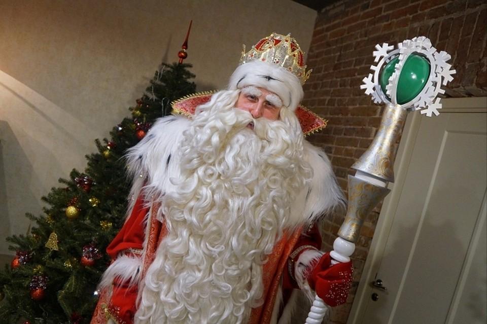 Дед Мороз из Великого Устюга прибыл в Томск
