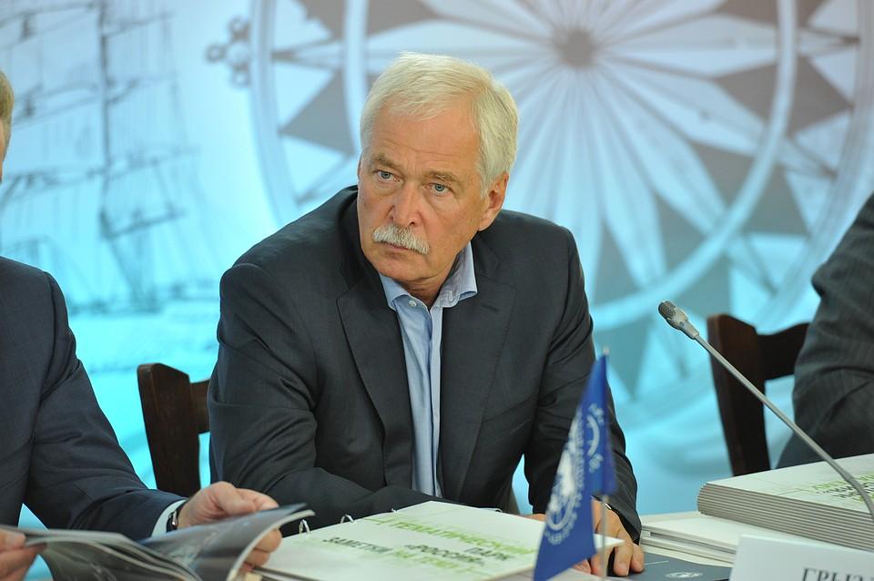 Борис Грызлов прибыл срабочим визитом вДагестан