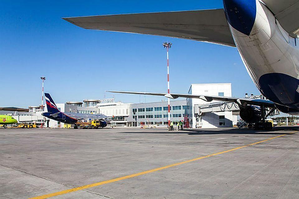 В аэропорту усилили меры безопасности