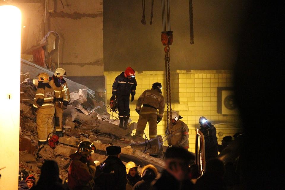 Cотрудники экстренных служб  завершили работы наместе взрыва газа вИжевске