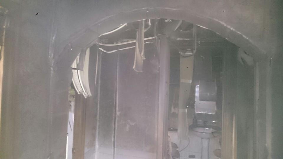 При пожаре наулице 12сентября погибли отец исын
