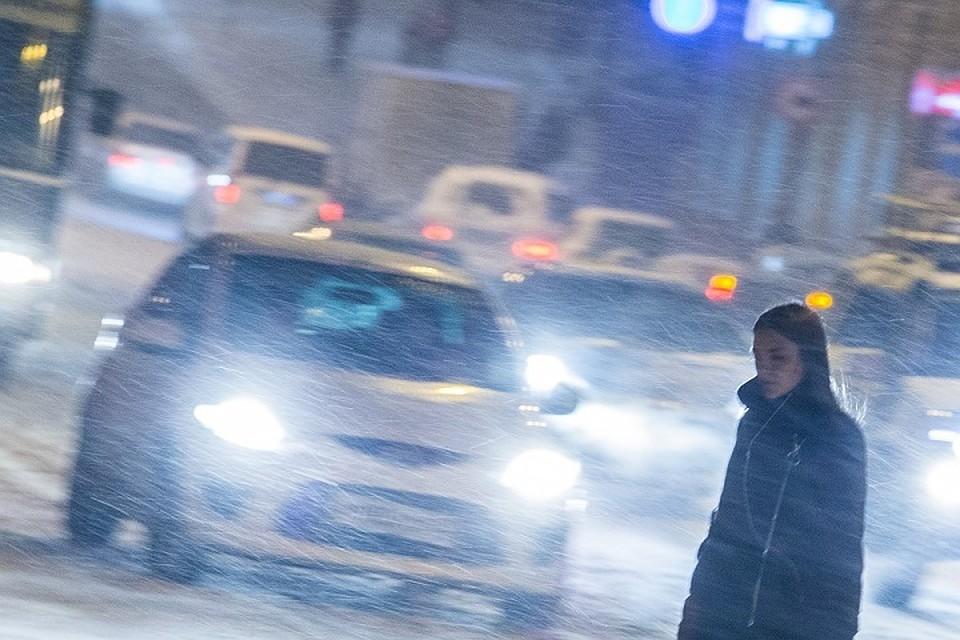 ВПриморье ожидают снегопад, сильный ветер иметель