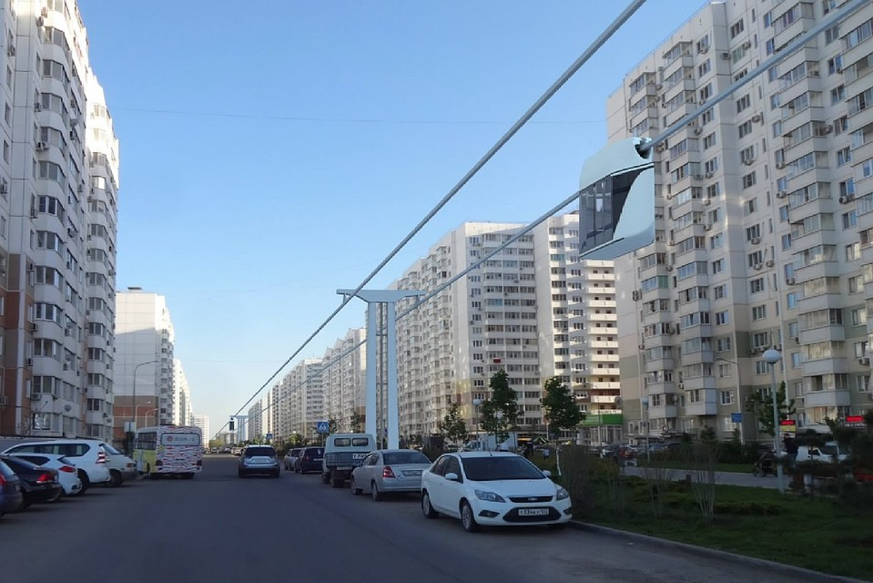 ВКраснодаре предложили сделать канатное метро