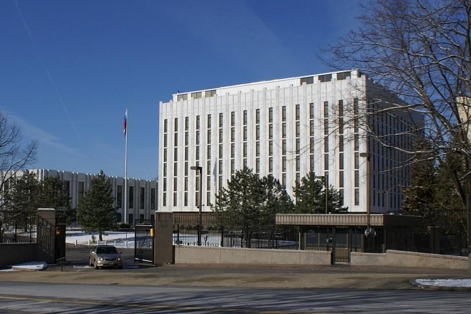 ПосольствоРФ вСША призвало американские власти перестать ограничивать свободу русских СМИ