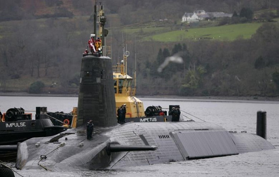 Английские подлодки смогут следить зароссийскими кораблями при помощи дронов